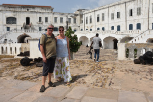 Im Cape Coast Castle